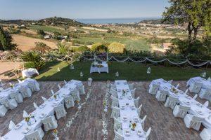 Svadba na Palmovej riviere, Taliansko, Agriturismo