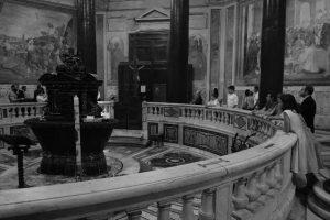 Svadba v Ríme - sobas Baptisterium 2