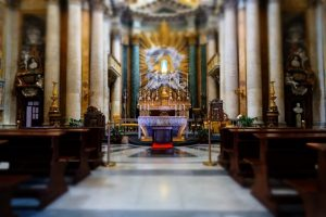Svadba v Rime - kostol 3