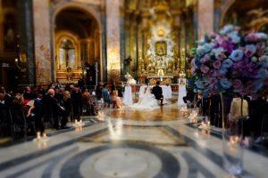 Svadba v kostole v Rime 3