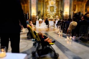 Svadba v kostole v Rime 4
