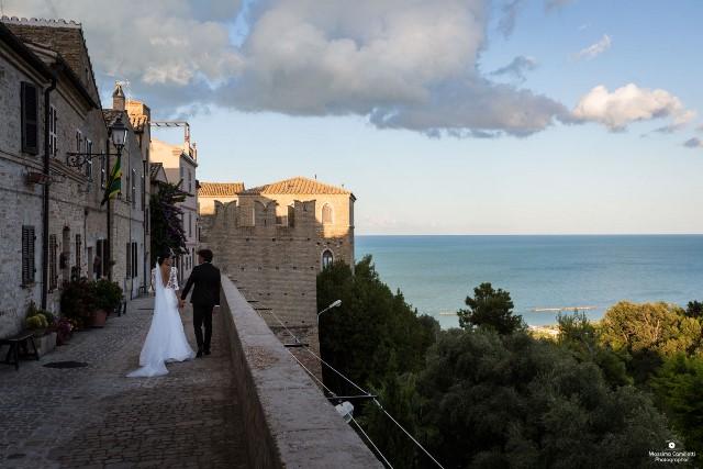 svadba pri mori, Palmova riviera, Taliansko