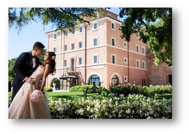 svadba vo vile na Palmovej riviere, Taliansko